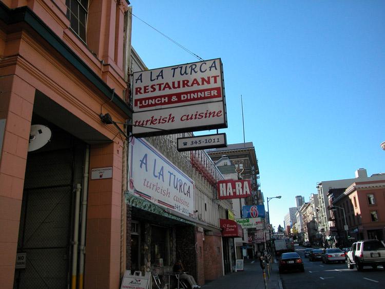 Moulin Cafe San Francisco