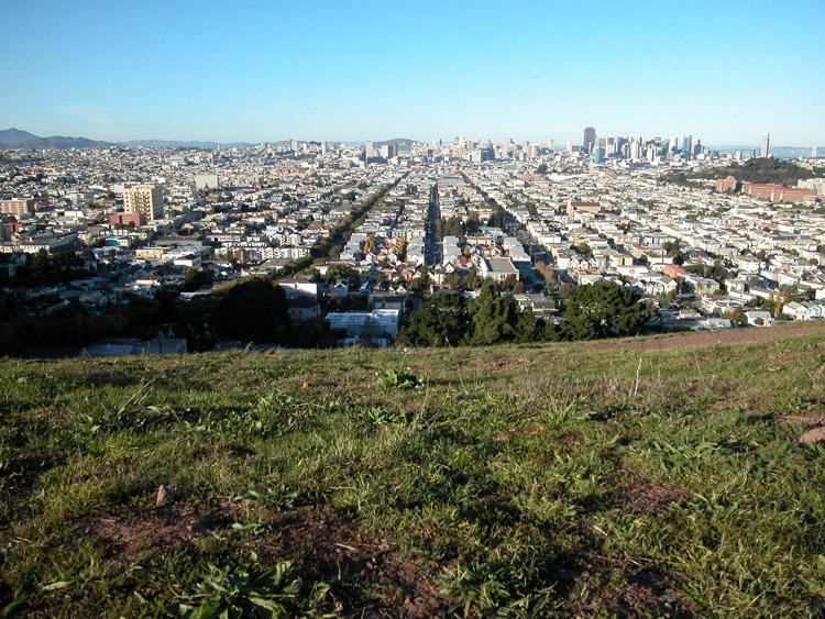 Bernal heights san francisco neighborhoods north view from bernal heights park publicscrutiny Images