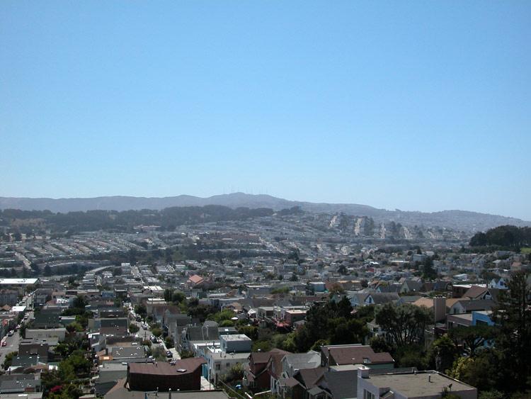 Bernal heights san francisco neighborhoods south view from bernal heights park publicscrutiny Images