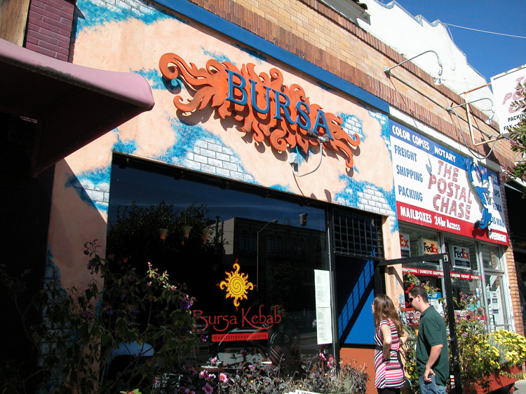 Bursa Kebabs Mediterranean And Turkish Cuisine On West Portal