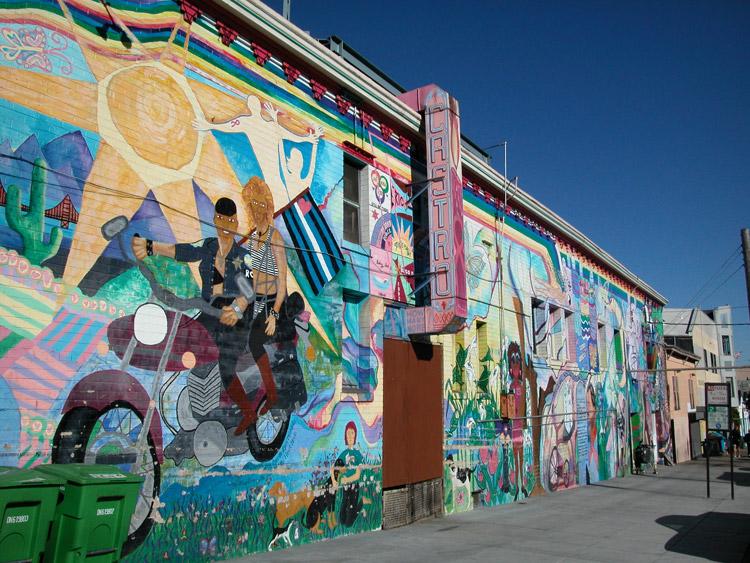 Castro Market Street San Francisco Neighborhoods