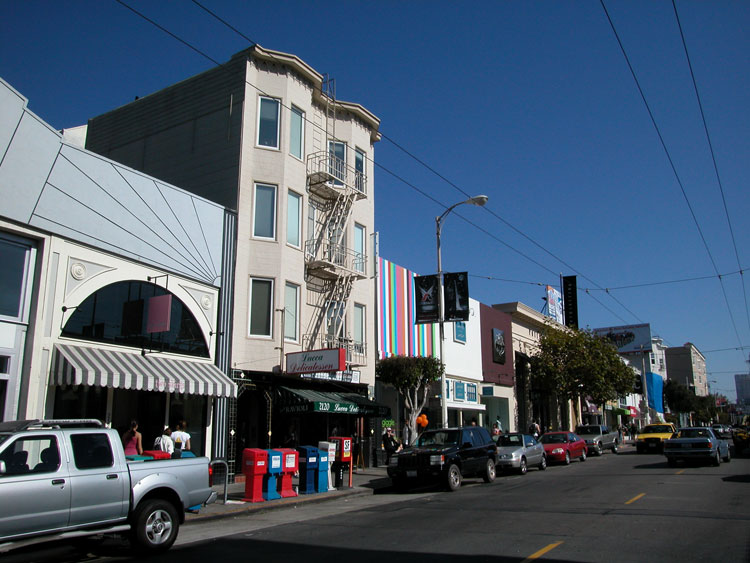 Fillmore Street is a very energized, hip mixed with earthy charm, shopping district. You will find any number of one-of-a-kind shops as well as some of your favorites such .