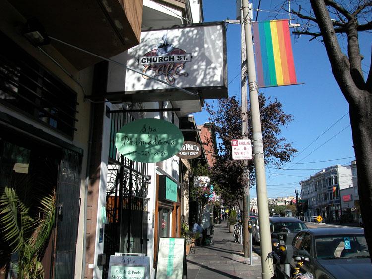 Cafe Downtown San Francisco
