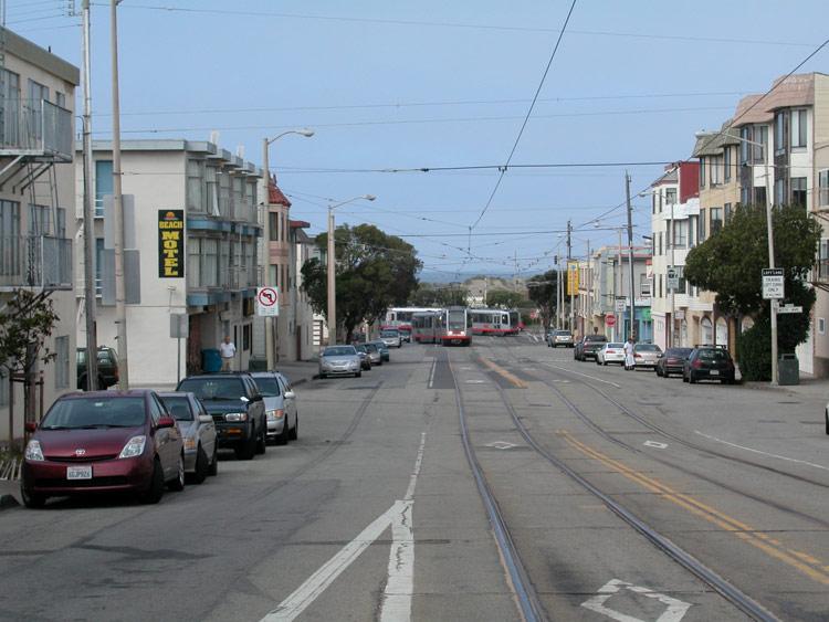 Sunset Judah Street San Francisco Neighborhoods