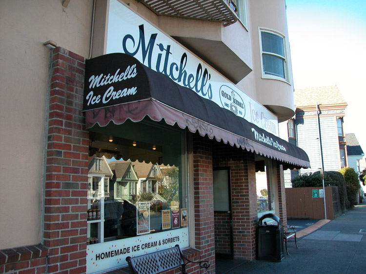 Mitchell's Ice Cream, on San Jose Avenue near 29th Street