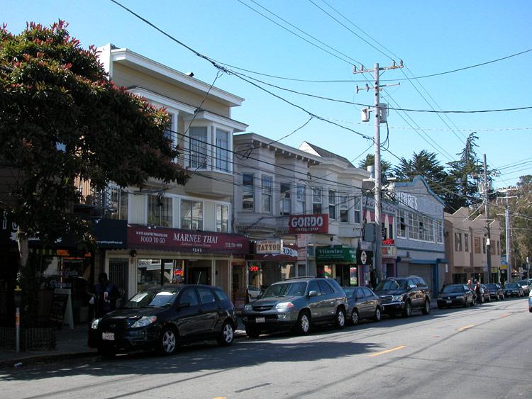 Sunset Irving Street San Francisco Neighborhoods