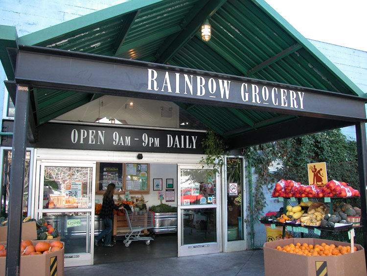 Rainbow Whole Foods San Francisco