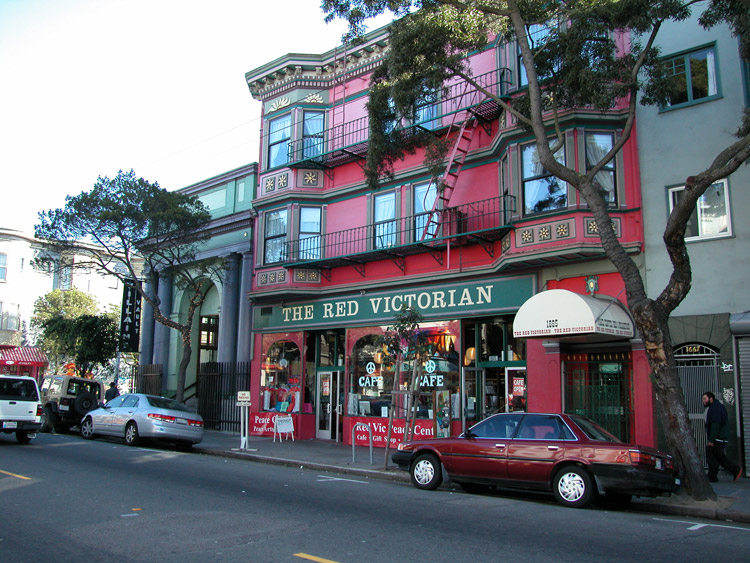 victorian bed and breakfast haight ashbury upper san francisco neighborhoods