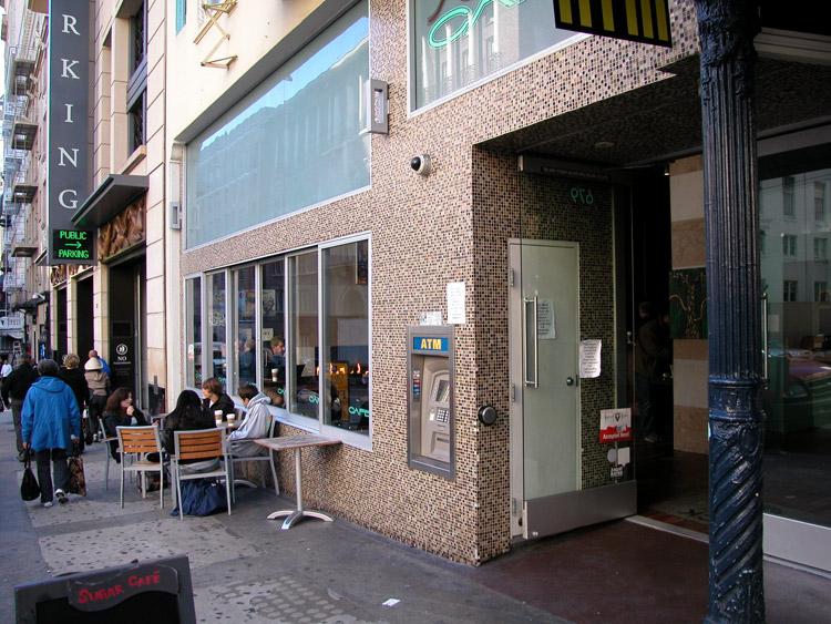 Italian Restaurant On Sutter Street San Francisco