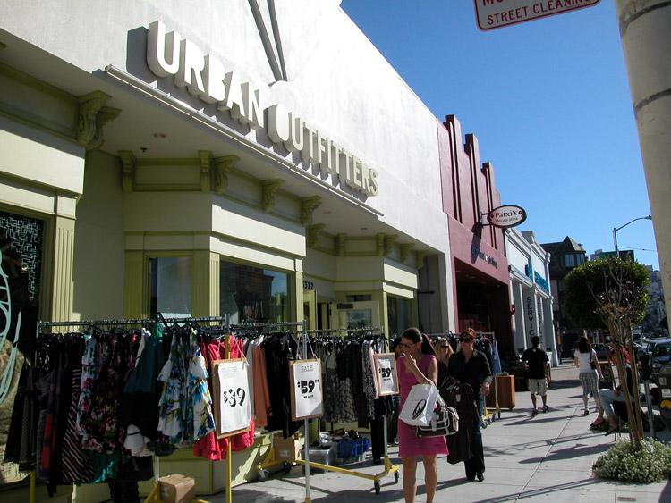 Marina chestnut street san francisco neighborhoods - Urban outfitters lyon ...