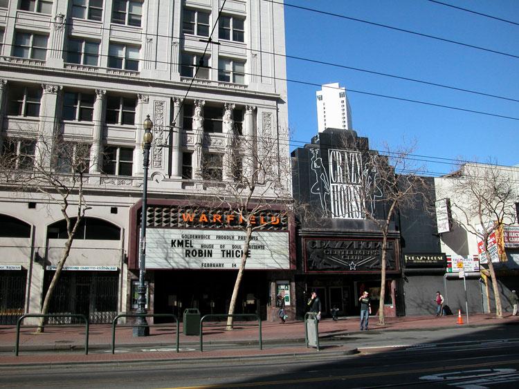 Market Street (Central) : San Francisco Neighborhoods
