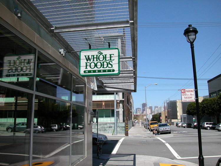 Whole Foods Park  Market Street San Francisco