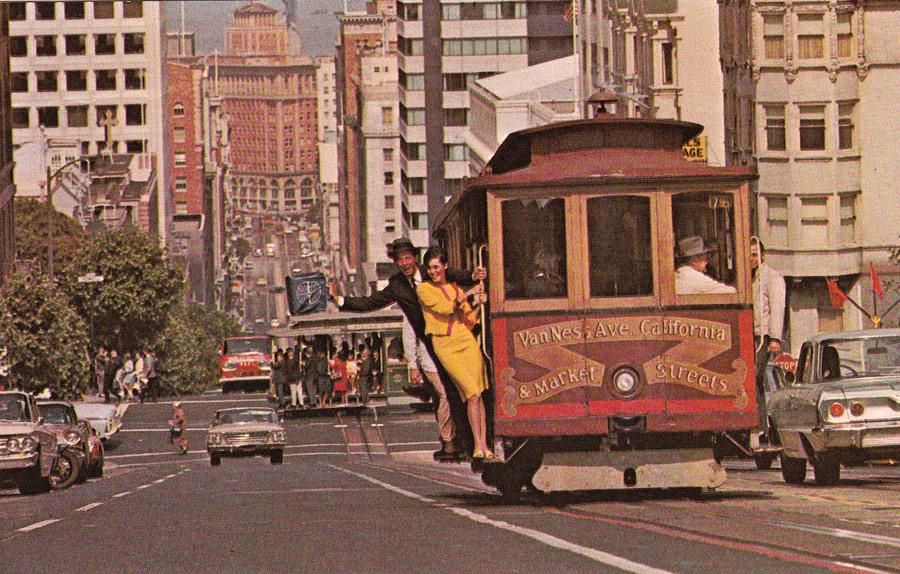 Postcards From San Francisco California Street