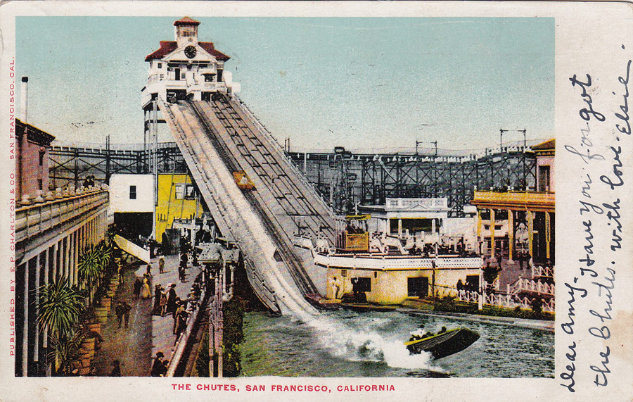 Postcards From San Francisco The Chutes