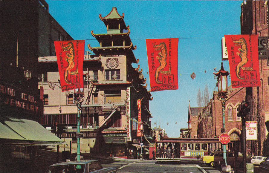 Postcards From San Francisco Chinatown